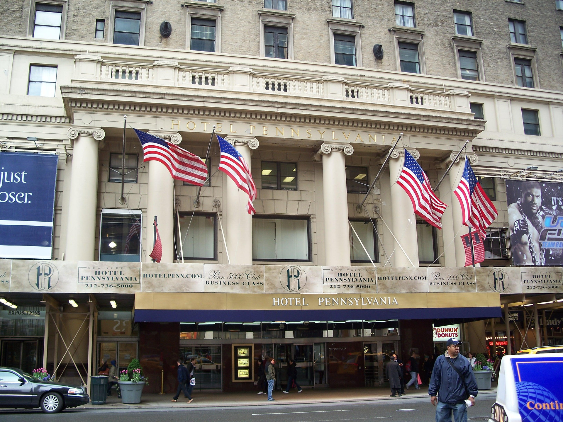 Hotel en Nueva York Hotel Pennsylvania