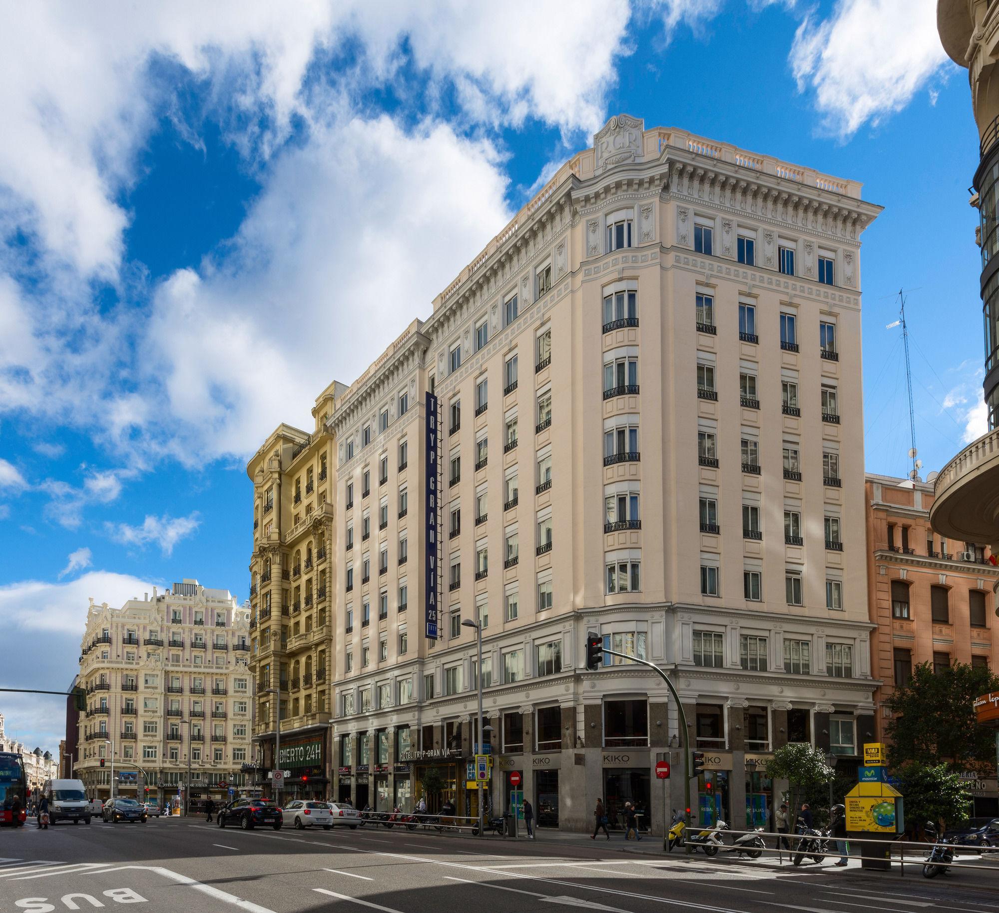 Hotel en Europa Tryp Madrid Gran Via