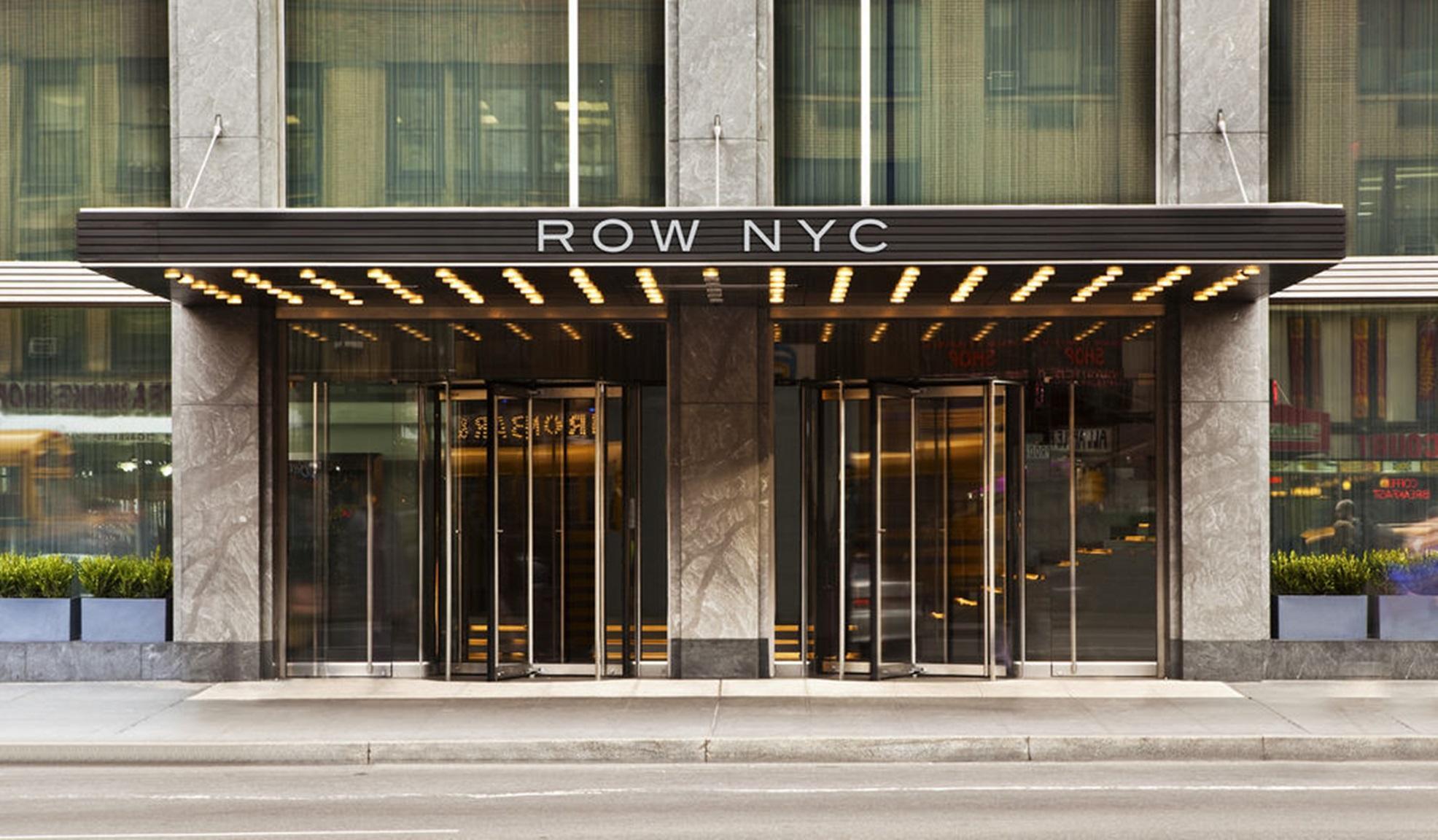 Hotel en Nueva York Row NYC